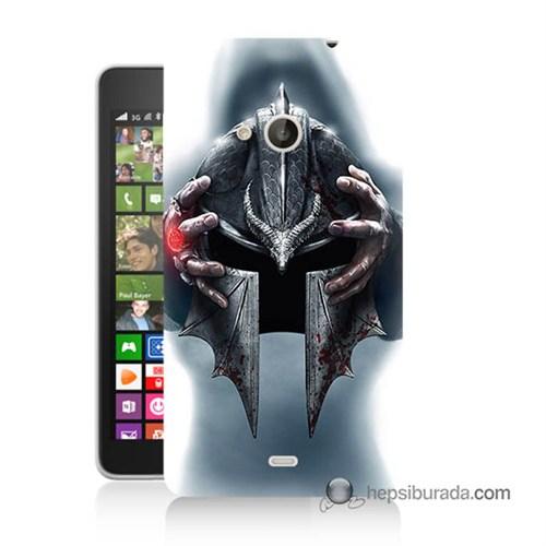 Teknomeg Nokia Lumia 535 Kılıf Kapak Assassins Creed Baskılı Silikon