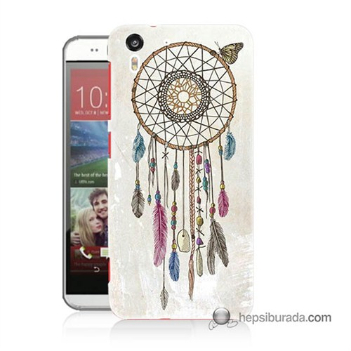 Teknomeg Htc Desire Eye Kapak Kılıf Dream Catcher Baskılı Silikon