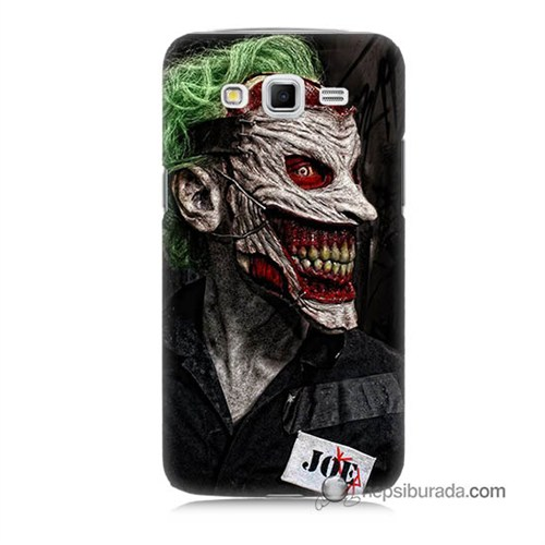 Teknomeg Samsung Galaxy Grand 2 Kapak Kılıf Joker Joe Baskılı Silikon