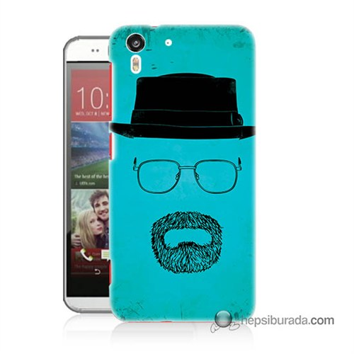 Teknomeg Htc Desire Eye Kılıf Kapak Breaking Bad Baskılı Silikon