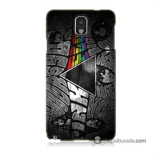 Teknomeg Samsung Galaxy Note 3 Kapak Kılıf Pink Floyd Baskılı Silikon
