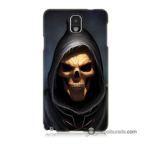 Teknomeg Samsung Galaxy Note 3 Kılıf Kapak Ölüm Meleği Baskılı Silikon