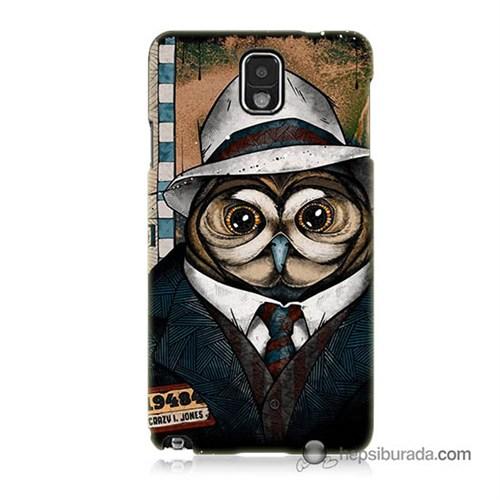 Teknomeg Samsung Galaxy Note 3 Kapak Kılıf Crazy Jones Baskılı Silikon