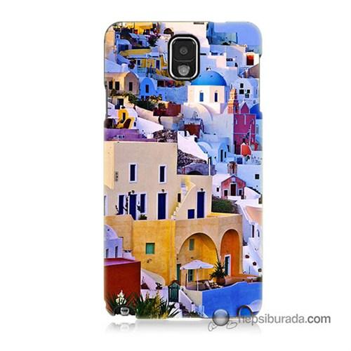 Teknomeg Samsung Galaxy Note 3 Kılıf Kapak İbiza Baskılı Silikon