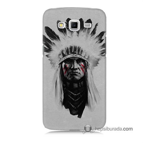 Teknomeg Samsung Galaxy Grand 2 Kılıf Kapak Geronimo Baskılı Silikon
