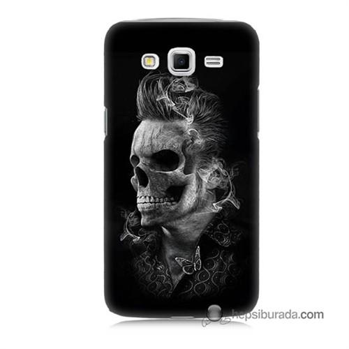 Teknomeg Samsung Galaxy Grand 2 Kapak Kılıf Elvis Presley Efsanesi Baskılı Silikon