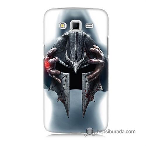 Teknomeg Samsung Galaxy Grand 2 Kılıf Kapak Assassins Creed Baskılı Silikon