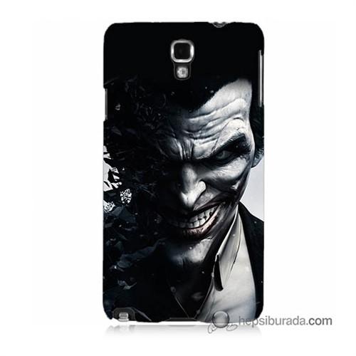 Teknomeg Samsung Galaxy Note 3 Neo Kılıf Kapak Joker Baskılı Silikon