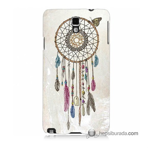 Teknomeg Samsung Galaxy Note 3 Neo Kapak Kılıf Dream Catcher Baskılı Silikon