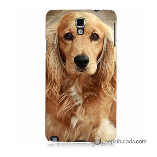 Teknomeg Samsung Galaxy Note 3 Neo Kapak Kılıf Köpek Baskılı Silikon