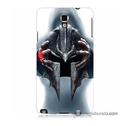 Teknomeg Samsung Galaxy Note 3 Neo Kılıf Kapak Assassins Creed Baskılı Silikon