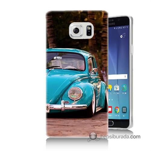 Teknomeg Samsung Galaxy Note 5 Kapak Kılıf Volkswagen Baskılı Silikon