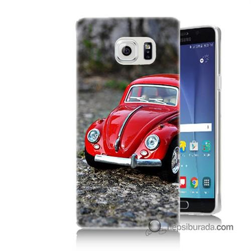 Teknomeg Samsung Galaxy Note 5 Kılıf Kapak Volkswagen Baskılı Silikon
