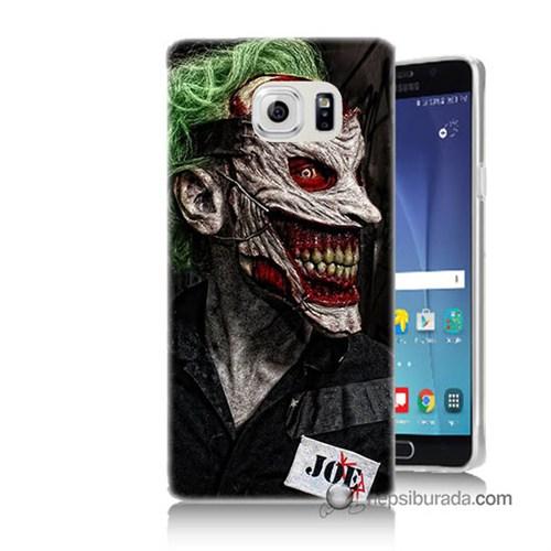 Teknomeg Samsung Galaxy Note 5 Kapak Kılıf Joker Joe Baskılı Silikon