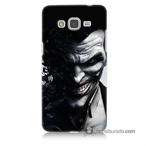 Teknomeg Samsung Galaxy Grand Prime Kılıf Kapak Joker Baskılı Silikon