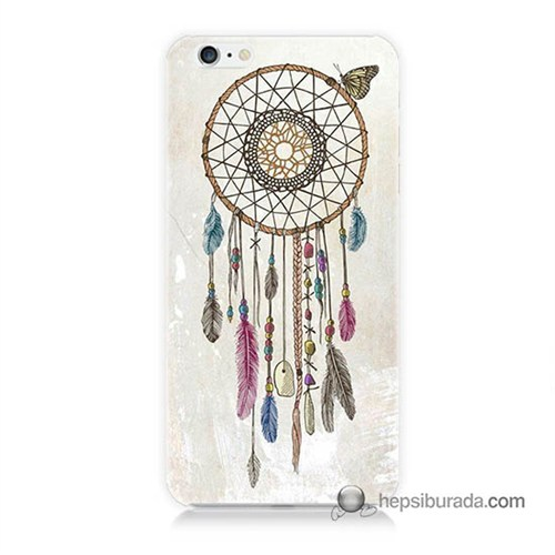Teknomeg İphone 6 Plus Kapak Kılıf Dream Catcher Baskılı Silikon