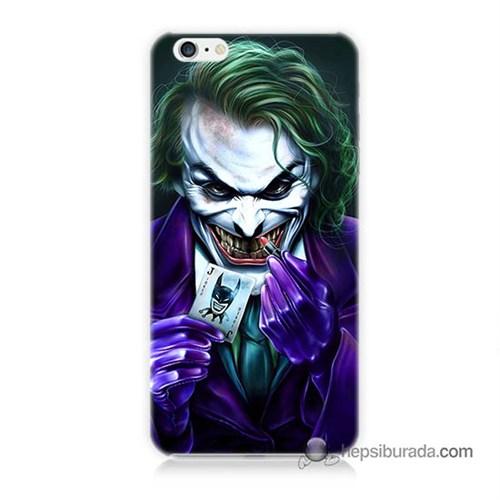 Teknomeg İphone 6 Plus Kapak Kılıf Joker Baskılı Silikon