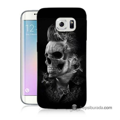 Teknomeg Samsung Galaxy S6 Edge Plus Kapak Kılıf Elvis Presley Efsanesi Baskılı Silikon