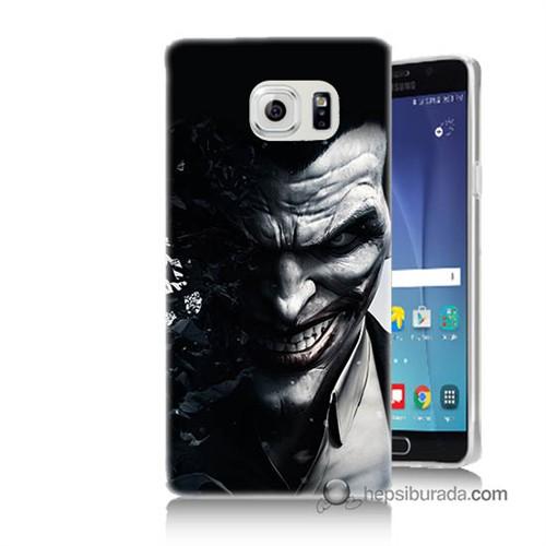 Teknomeg Samsung Galaxy Note 5 Kılıf Kapak Joker Baskılı Silikon