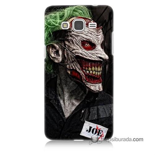 Teknomeg Samsung Galaxy Grand Prime Kapak Kılıf Joker Joe Baskılı Silikon