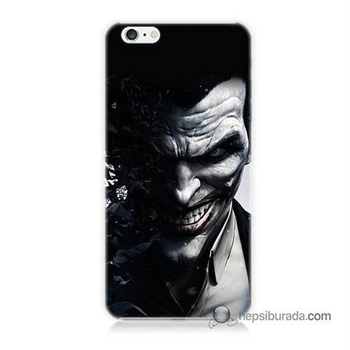 Teknomeg İphone 6 Plus Kılıf Kapak Joker Baskılı Silikon