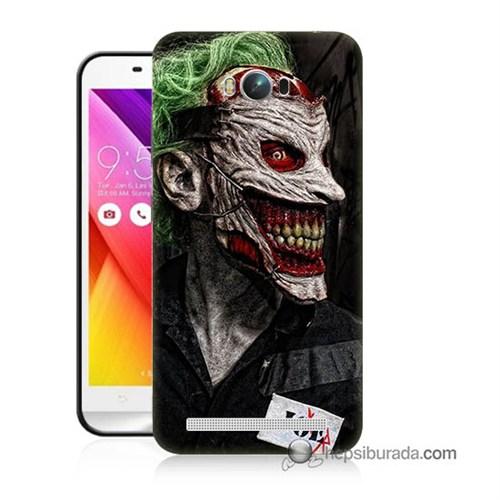 Teknomeg Asus Zenfone Max Kapak Kılıf Joker Joe Baskılı Silikon