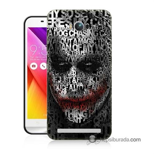 Teknomeg Asus Zenfone Max Kapak Kılıf Joker Baskılı Silikon