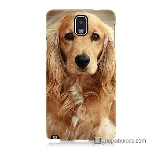 Teknomeg Samsung Galaxy Note 3 Kapak Kılıf Köpek Baskılı Silikon