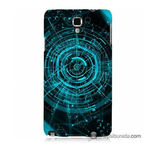 Teknomeg Samsung Galaxy Note 3 Neo Kapak Kılıf Asit Baskılı Silikon