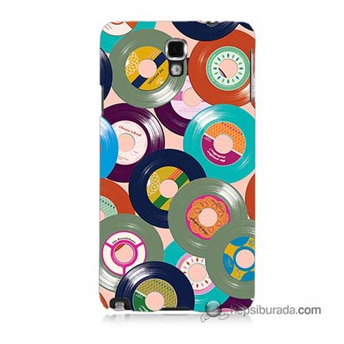 Teknomeg Samsung Galaxy Note 3 Neo Kapak Kılıf Renkli Plaklar Baskılı Silikon