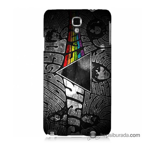 Teknomeg Samsung Galaxy Note 3 Neo Kapak Kılıf Pink Floyd Baskılı Silikon