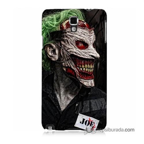Teknomeg Samsung Galaxy Note 3 Neo Kapak Kılıf Joker Joe Baskılı Silikon