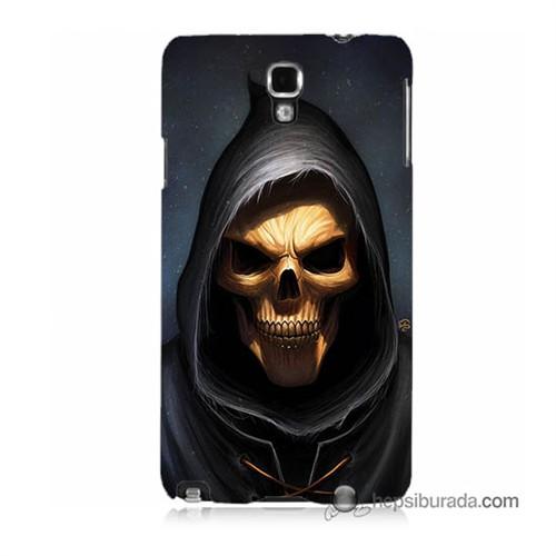 Teknomeg Samsung Galaxy Note 3 Neo Kılıf Kapak Ölüm Meleği Baskılı Silikon