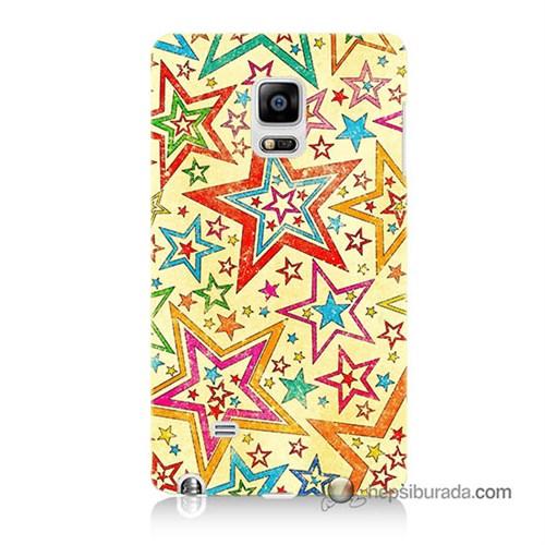 Teknomeg Samsung Galaxy Note Edge Kılıf Kapak Yıldızlar Baskılı Silikon