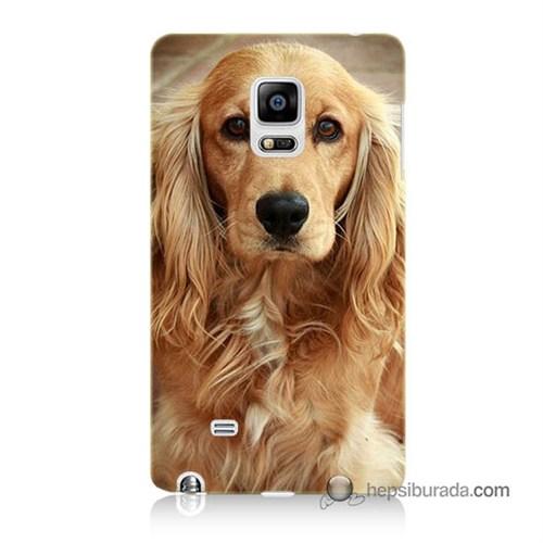 Teknomeg Samsung Galaxy Note Edge Kapak Kılıf Köpek Baskılı Silikon