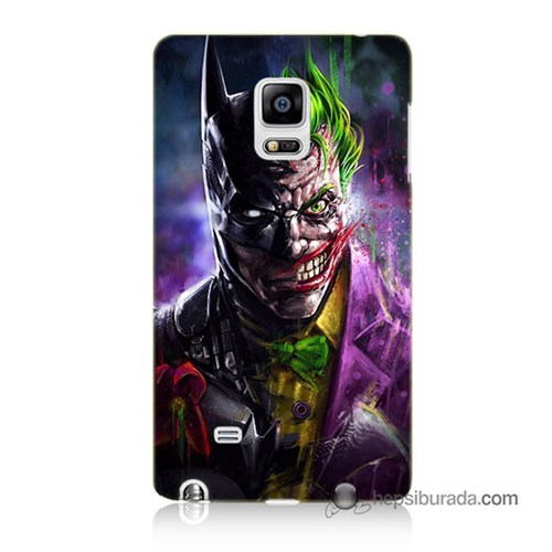 Teknomeg Samsung Galaxy Note Edge Kılıf Kapak Batman Vs Joker Baskılı Silikon