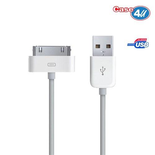 Case 4U Apple iPhone 3 Şarj ve Data Kablosu