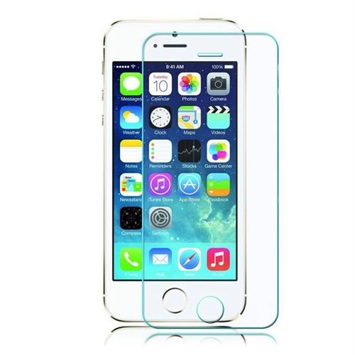 Teleplus İphone 5S Plastik Ve Cam Karışımı Kırılmaz Ekran Koruyucu