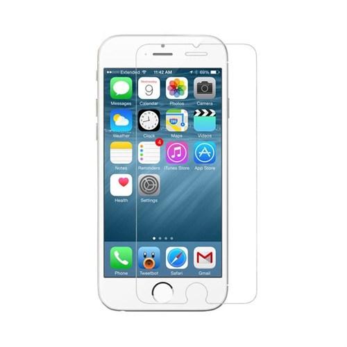 Teleplus İphone 6 Plastik Ve Cam Karışımı Kırılmaz Ekran Koruyucu