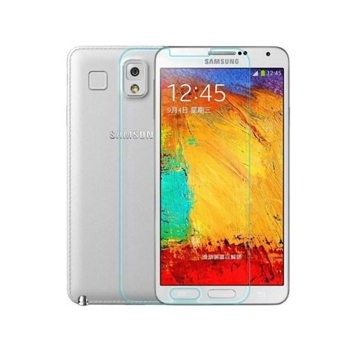 Teleplus Samsung Galaxy Note 3 Plastik Ve Cam Karışımı Kırılmaz Ekran Koruyucu