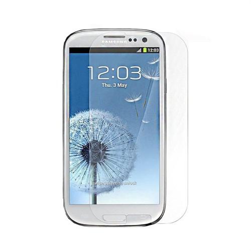 Teleplus Samsung Galaxy S3 Plastik Ve Cam Karışımı Kırılmaz Ekran Koruyucu