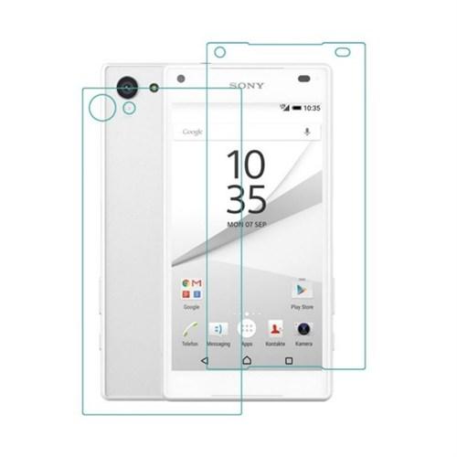 Teleplus Sony Xperia Z5 Premium Ön Ve Arka Kırılmaz Cam Ekran Koruyucu