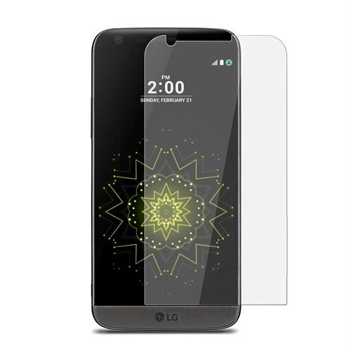 Teleplus Lg G5 Plastik Ve Cam Karışımı Kırılmaz Ekran Koruyucu