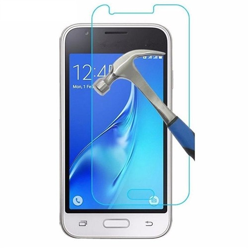 Teleplus Samsung Galaxy J1 2016 Kırılmaz Cam Ekran Koruyucu
