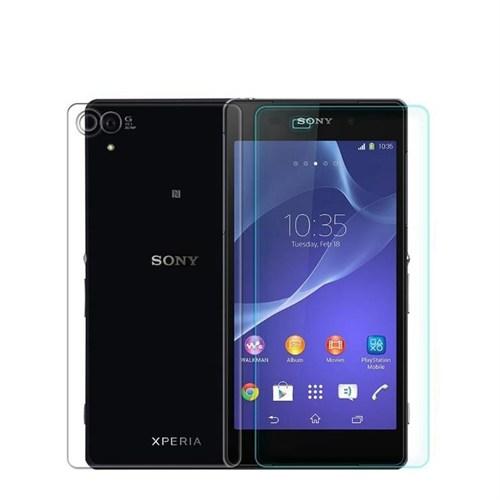 Teleplus Sony Xperia Z2 Ön Ve Arka Cam Ekran Koruyucu Film