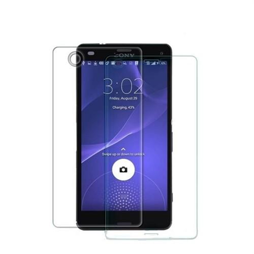 Teleplus Sony Xperia Z3 Mini Ön Ve Arka Cam Ekran Koruyucu Film