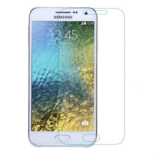 Teleplus Samsung Galaxy E5 Temperli Kırılmaz Cam Ekran Koruyucu