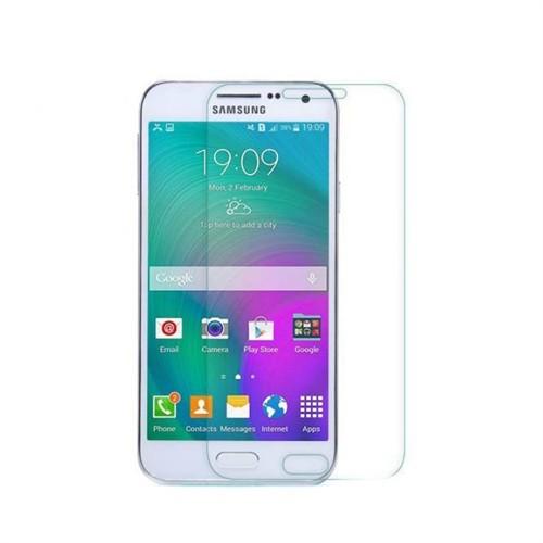 Teleplus Samsung Galaxy E7 Tempelri Kırılmaz Cam Ekran Koruyucu