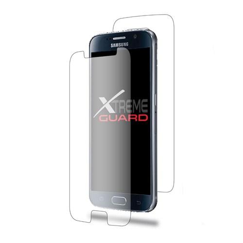 Teleplus Galaxy S6 Full Body Kırılmaz Ekran Koruyucu Ön + Arka