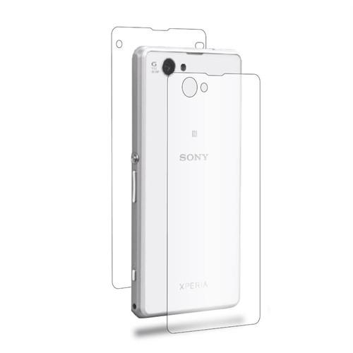 Teleplus Sony Xperia Z1 Compact Full Body Ön + Arka Ekran Koruyucu